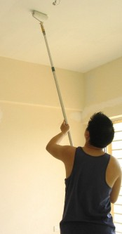 Dancing on the ceiling: How to paint a ceiling