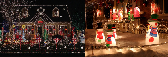 Outdoor Christmas Lights: Love them or hate them?
