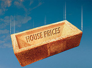 Drop in UK house prices during February