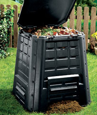 Turn your garden & kitchen waste into compost!