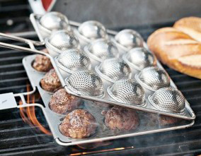 Household Gadget of the week:  BBQ Meatball basket