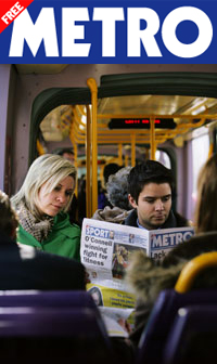 Metro: Find a place to rent on the way to work