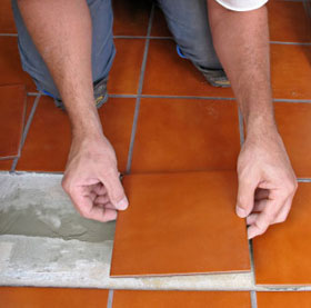 How to replace cracked or damaged tiles