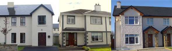 3 Four Bed Semis for less than €170,000 in Mayo