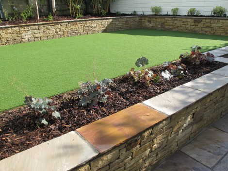 Synthetic Grass Lawn Blackrock