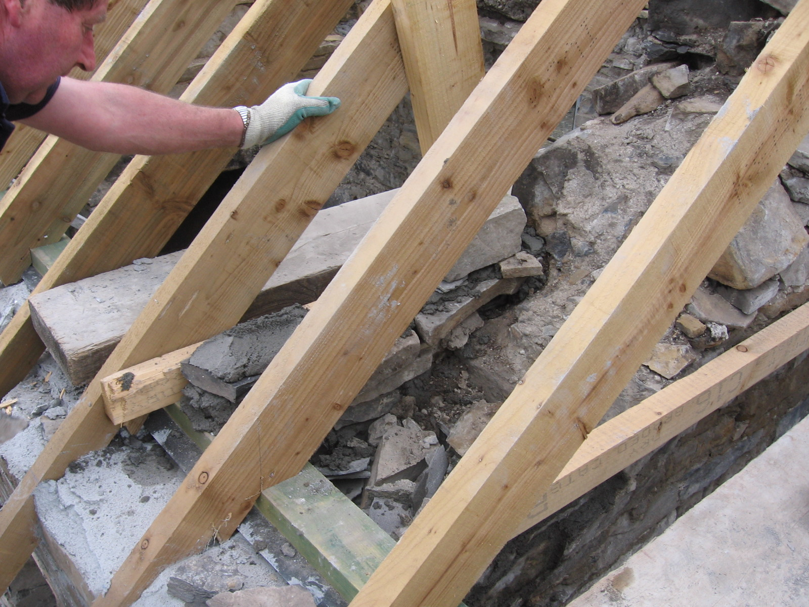 Installing Roof Timbers