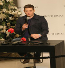 Michael Buble on the lookout for an Irish property