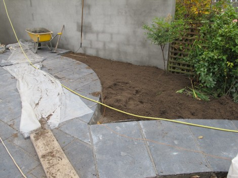 Urban Garden Landscaping – Limestone Patio and Paving