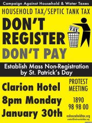 Rally in Limerick to oppose household and water taxes