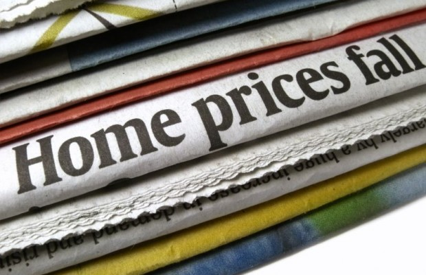 House prices continued to fall in 2011