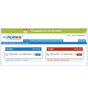 Check out what's on view with MyHome.ie