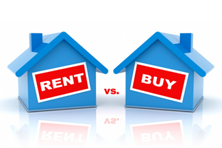 Half of those renting can afford to buy