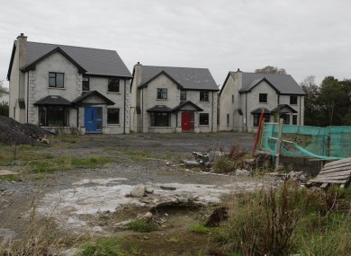 Over 2,000 unfinished housing developments in Ireland