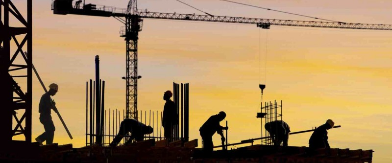 Construction activity continues to fall