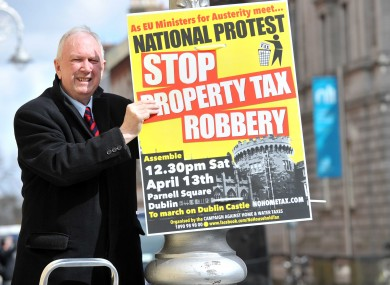 National protest against property tax on Saturday