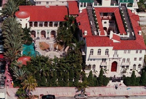 Beckhams interested in Versace mansion