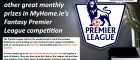 Win an iPad Mini in our Fantasy Premier League competition
