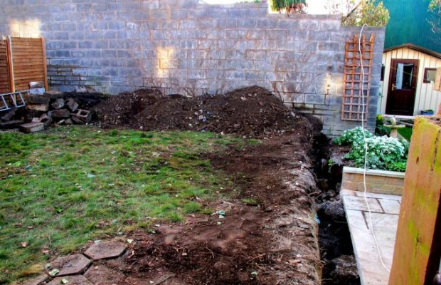 Making a new garden in Rathfarnham