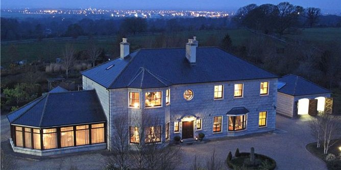 Niall Quinn's home on the market for €2.5m