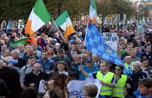IMF insists that public opposition to water charges is waning