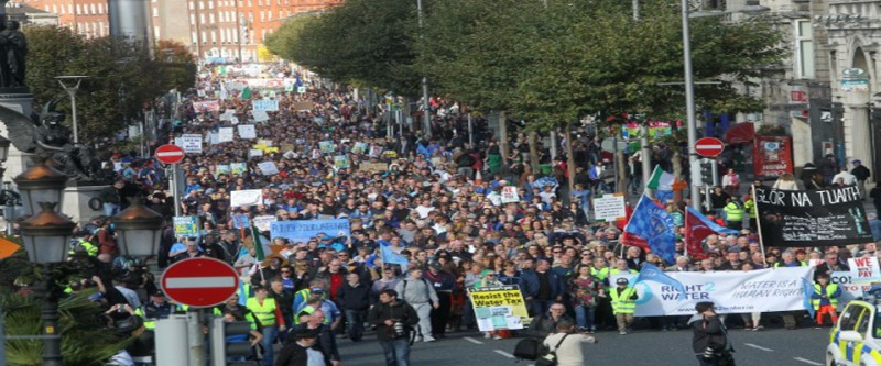 Less than half of households intend on paying water charges