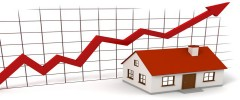 House prices continue to rise but at a slower rate