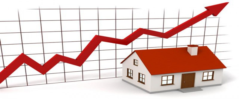 Property prices up 12.7% in the year to March