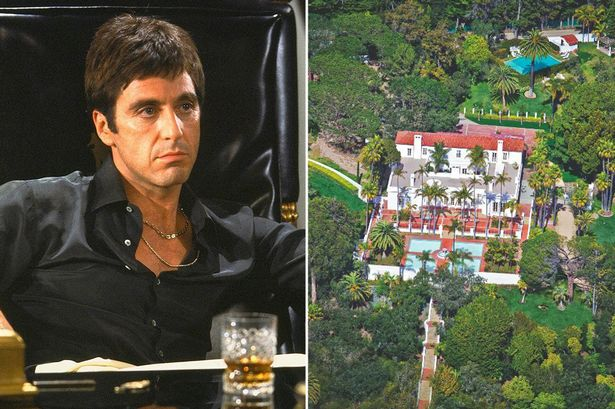 Scarface home on the m... Al Pacino
