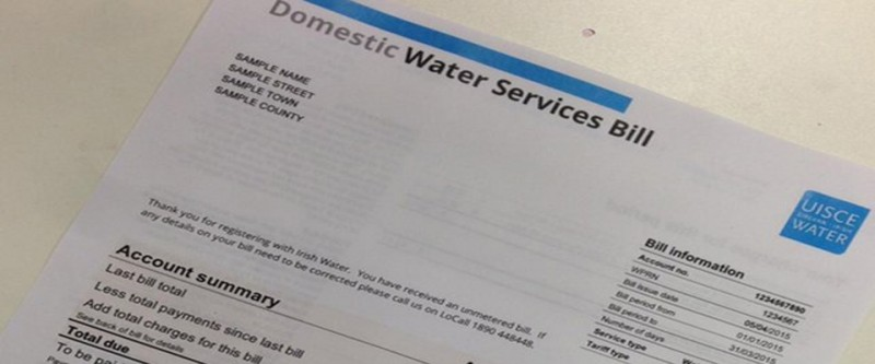 Less than half of people have paid their Irish Water bills