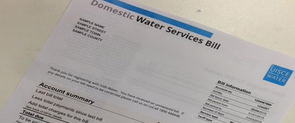 New website set up to allow for refunds of water charges
