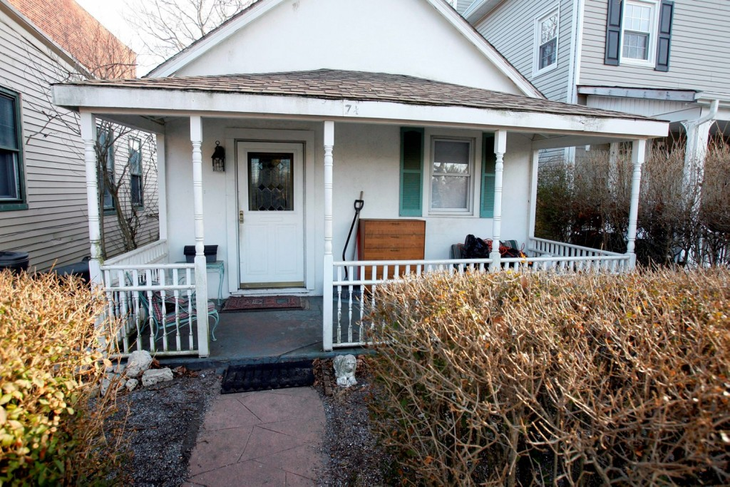 "A March 2009 photos shows a house at 7 1/2 West End Court, in Long Branch, N.J., where Springsteen has said that he wrote every song on the ""Born to Run"" album. The Jersey shore home is back on the market. The two-bedroom cottage is owned by three fans of the singer. They bought it in 2009 with the idea of turning the home into a tribute to the New Jersey rock legend, but those plans were derailed.  (Andy Mills/The Star-Ledger via AP)  TV OUT; MAGS OUT; INTERNET OUT; NO SALES; NO ARCHIVING; MANDATORY CREDIT  ANDREW MILLS/THE STAR-LEDGER"
