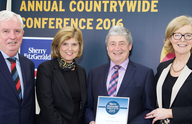 West Cork estate agents win Sherry FitzGerald Franchise of the Year 2015