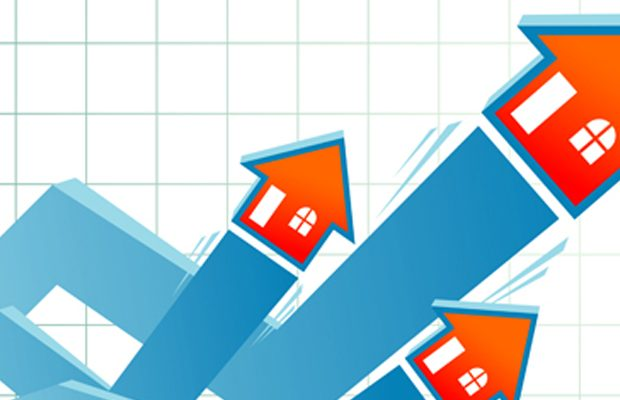 Residential property prices up 13% in the year to February