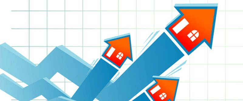 Residential property prices up 4.3% in the year to February