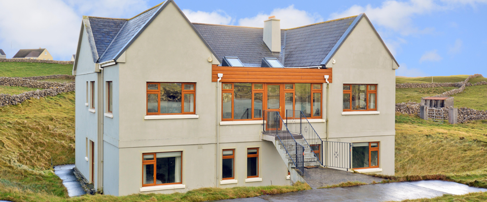 Dragons' Den star to sell Aran Islands home to help people escape homelessness