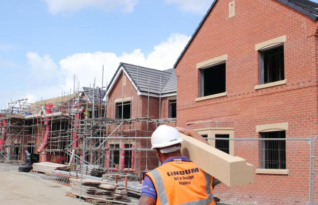 New housing completions reached a nine year high last year