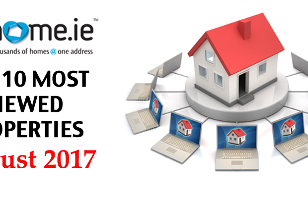 The 10 most viewed properties on MyHome.ie this month