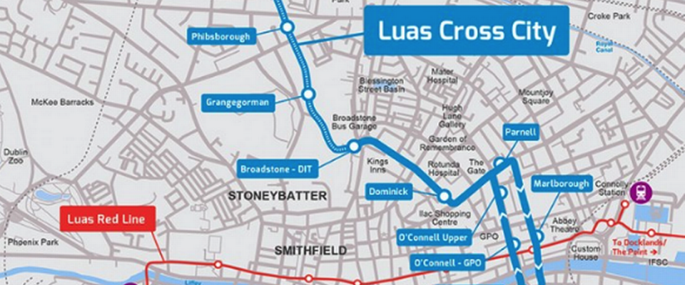 Luas effect sees house prices take off in parts of Dublin 1 and 7