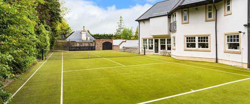 10 of the finest houses with tennis courts on MyHome.ie right now