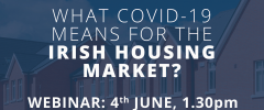 Sherry FitzGerald to host webinar on 'What Covid-19 means for the Irish housing market?'